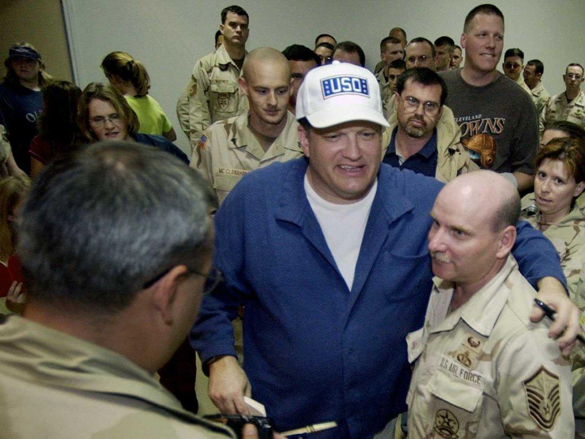 Drew Carey Visiting Troops
