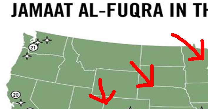 Obamas Furious After FBIs List Of Terrorist Camps In US Is LEAKED - Terrorist training camps in us map
