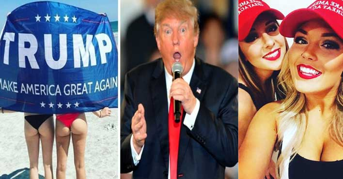 Babes for Trump