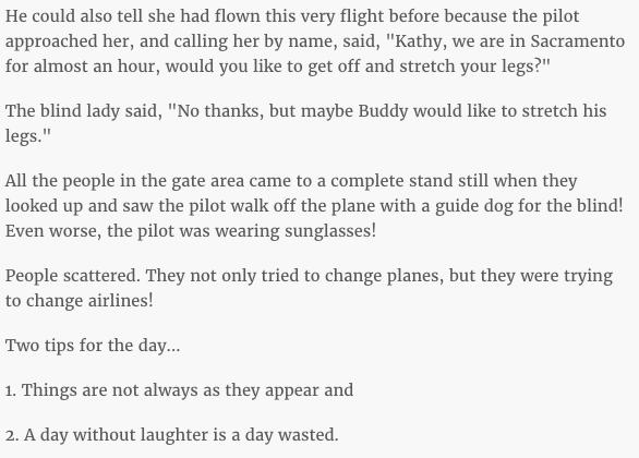 pilot joke