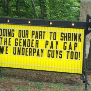 This Pizza Shop 39 S Sign About Transgender Bathrooms Is Going Viral Must See