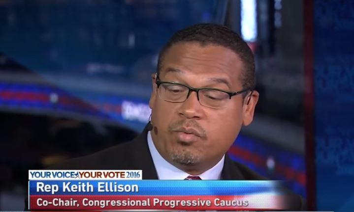 keith ellison racist