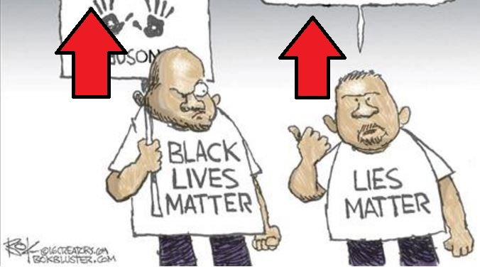 black lives matter cartoon