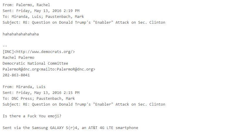 wikileaks dnc