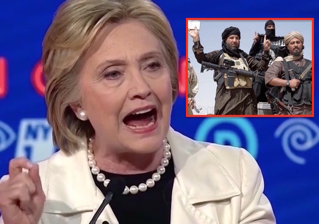 hillary clinton and isis