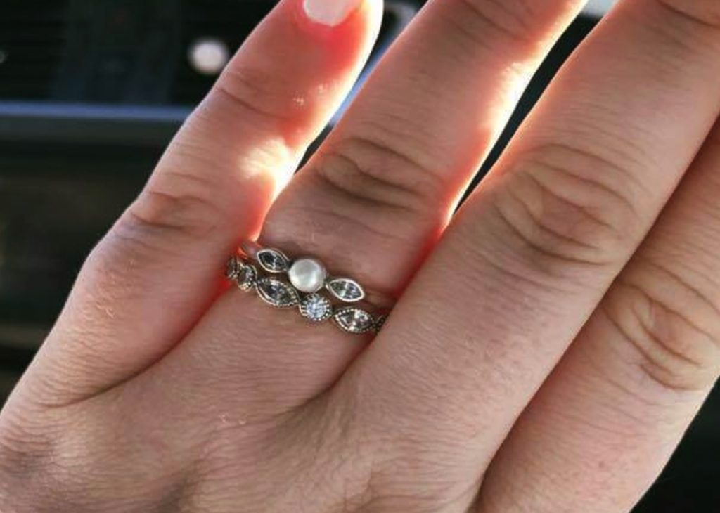 engagement ring post