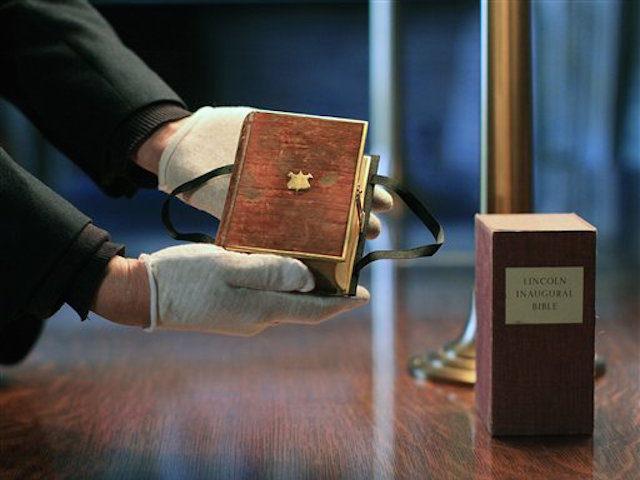 trump lincoln bible