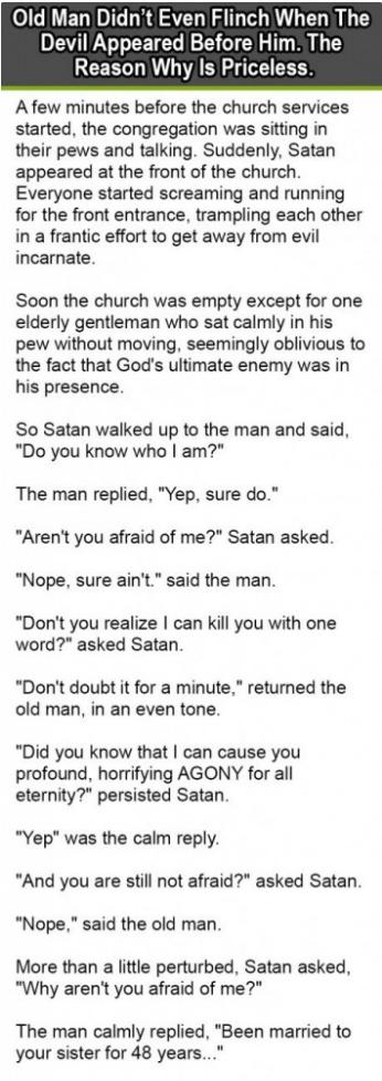 old man devil joke