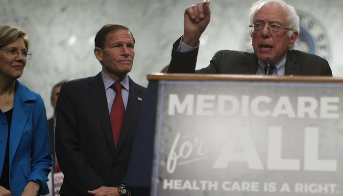 Democrats Are Digging Their Electoral Grave By Backing Bernie Sanders's Single-Payer Health Care Bill